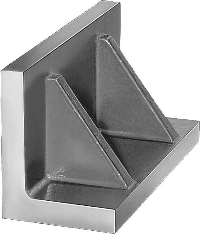 L profile with reinforcing ribs grey cast iron - Profiles
