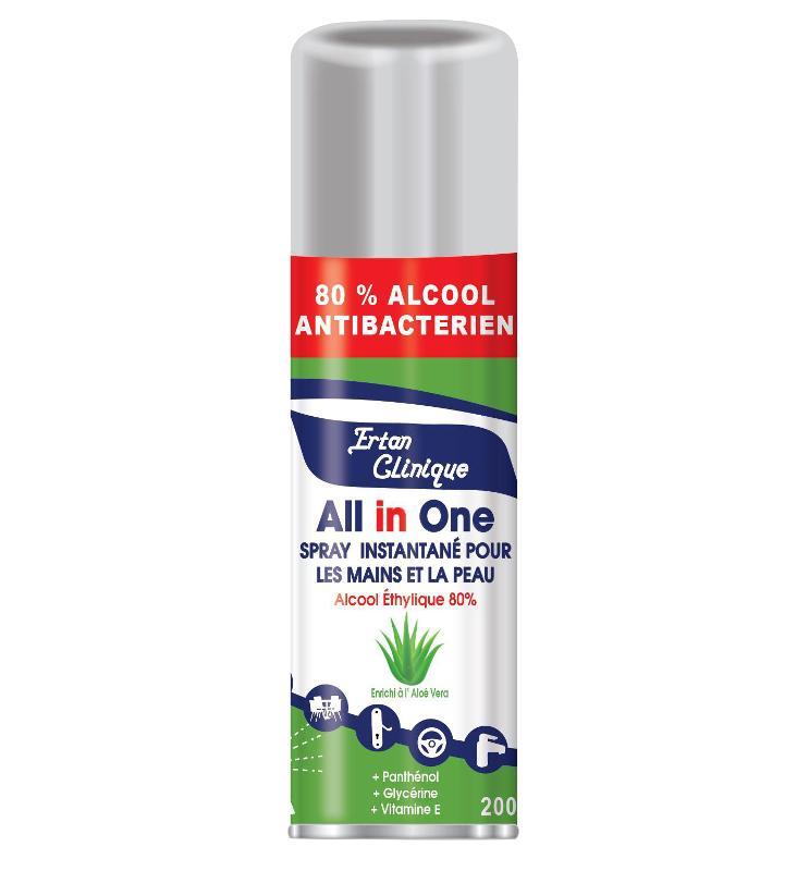 Spray 80% Alcool « Tout En Un » - Produits phares
