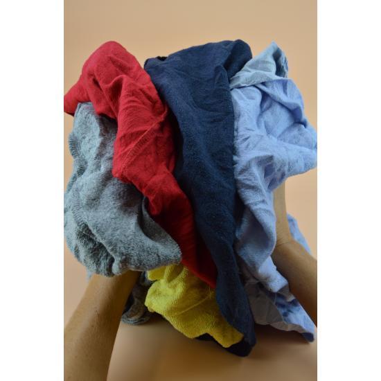 Chiffon sweat couleur jogging cotonneux carton 10kg... - Essuyage