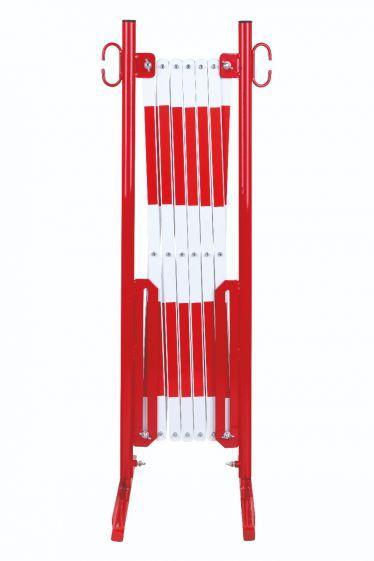 Barrière Extensible Rouge-blanc 3,6m Standard - Barrières De Sécurité