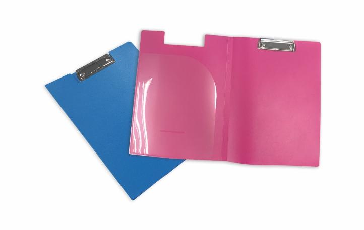 File/Report Folder - Metal Clipboard File Folder or Report Folder (Clip Fold)