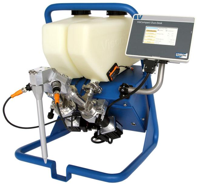 VisCompact Duo-Desk | Desktop unit and dosing system  - for 2-component dosing processes
