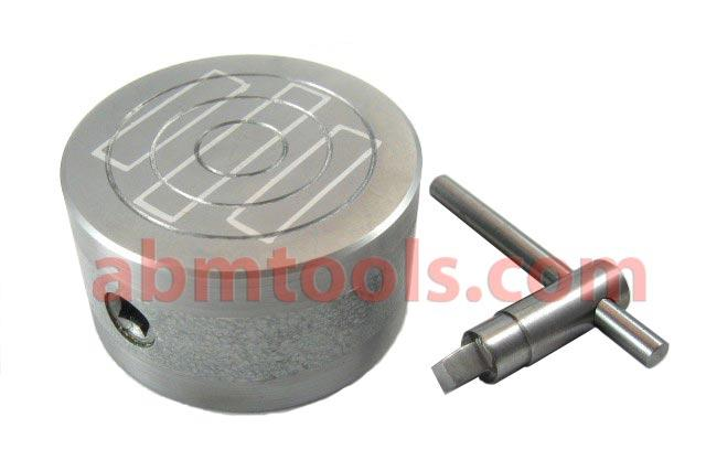 Magnetic Chuck Round - Used for holding ferromagnetic work pieces