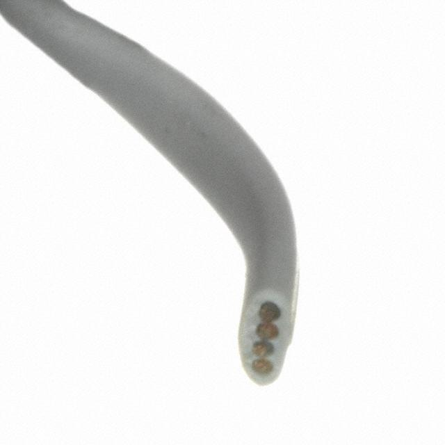 CABLE MOD FLAT 4COND SLVR 1000' - Assmann WSW Components AT-K-26-4-S/1000