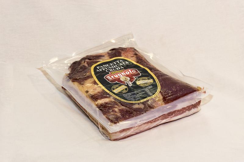 Pancetta Affumicata Cruda 1/2 Sottovuoto - Salumi latticini e uova - Lardo e strutto