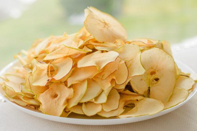 Линия для производства яблочных и других фруктовых чипсов - яблочные чипсы, фруктовые чипсы, осушительное оборудование.
