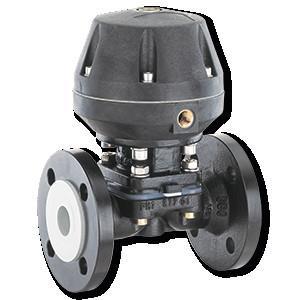 GEMÜ 620 - Vanne à membrane à commande pneumatique