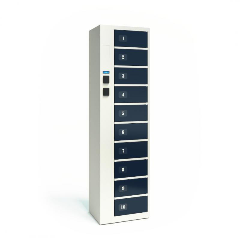 TECHCODE RFID LOCKERS FOR CLEAN CLOTHES - Remotely controlled cabinets with access control