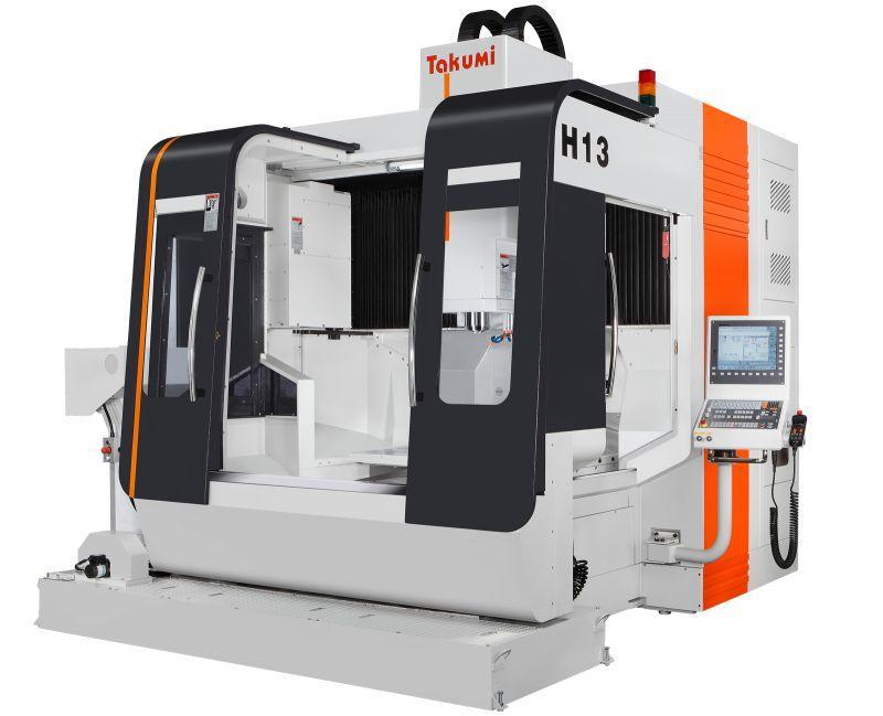 3-Achs-Bearbeitungszentrum - H13 - 3-Achs-Bearbeitungszentrum zum Werkzeug- u. Formenbau, H13, Takumi