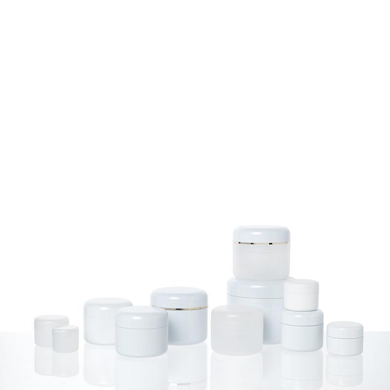 Pots Plastique - SERIE 86 Double paroi en SAN