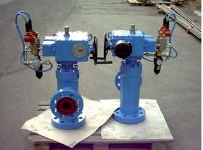 """Choke Cage 3"""" X 4"""" ANSI 1500 Stepping Actuator Operated - Valves and Actuators"""