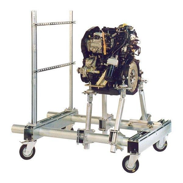 Supports moteurs transportables - Supports moteurs transportables pour la marche de moteurs au banc d'essai de pui