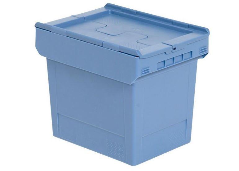 Nestbarer Behälter: Nestro 4322 D - Nestbarer Behälter: Nestro 4322 D, 410 x 300 x 240 mm