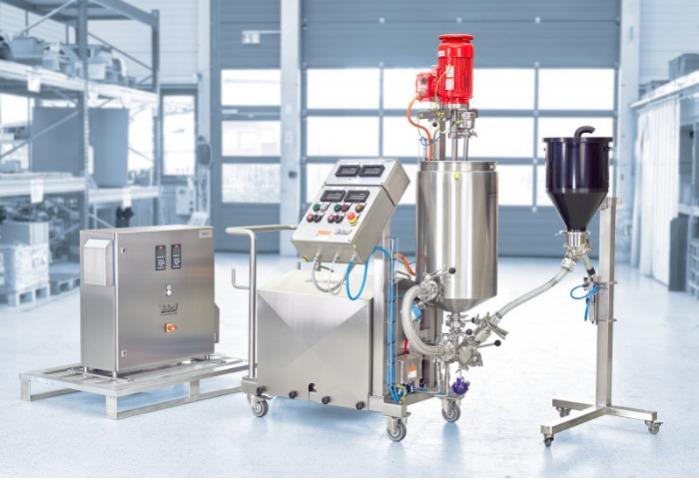 Ystral实验机PiloTec适合您的研究和开发 - 实验室和试验工厂规模的技术