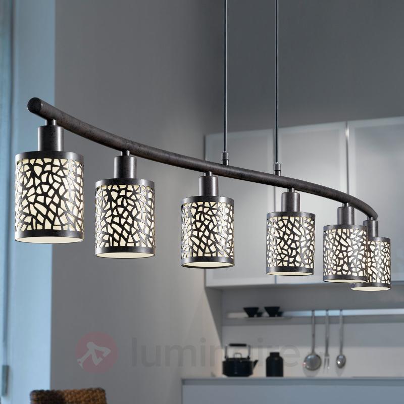 Suspension ALMERA à 6 ampoules - Cuisine et salle à manger