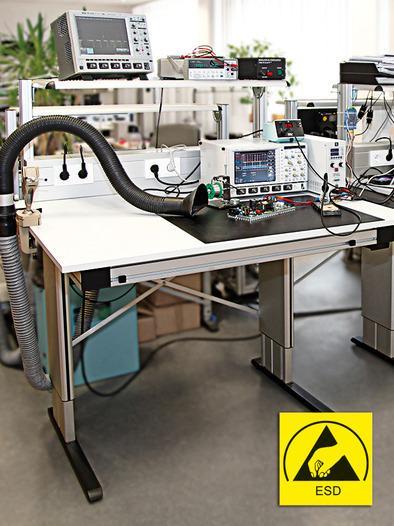 Multilift II ESD kaldırma sütunu - ESD iş istasyonu sistemleri için yükseklik ayarı