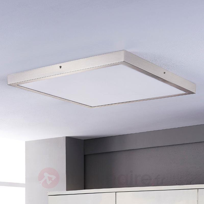 Plafonnier LED carré Elice - Plafonniers LED