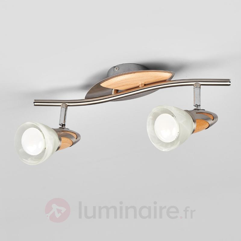 Spot LED Marena à deux lampes, E14 R50 - Plafonniers LED