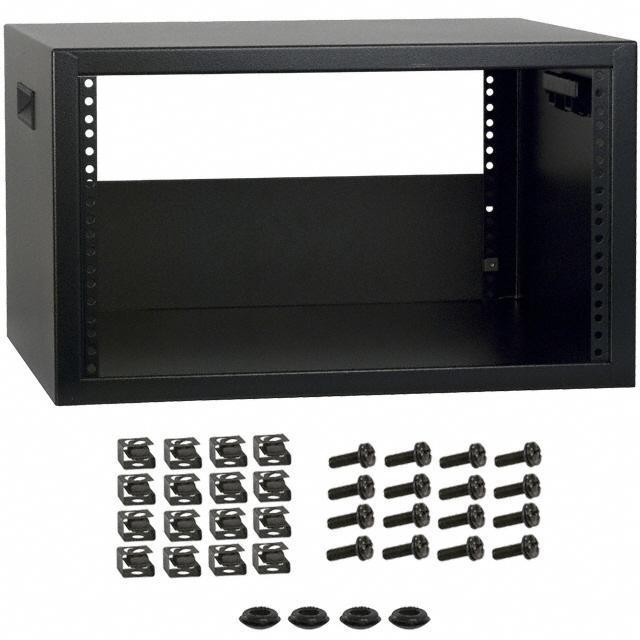 RACK STEEL 17.5X21X12.5 BLK - Hammond Manufacturing RCBS1901017BK1