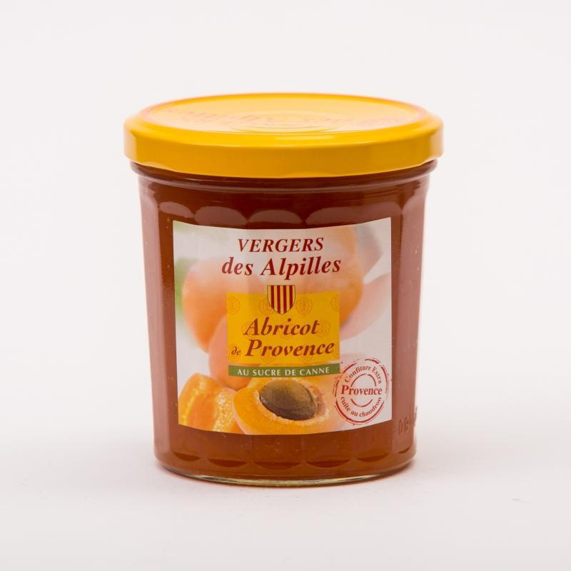 confiture Abricot de Provence - Confitures au sucre de canne Vergers des Alpilles