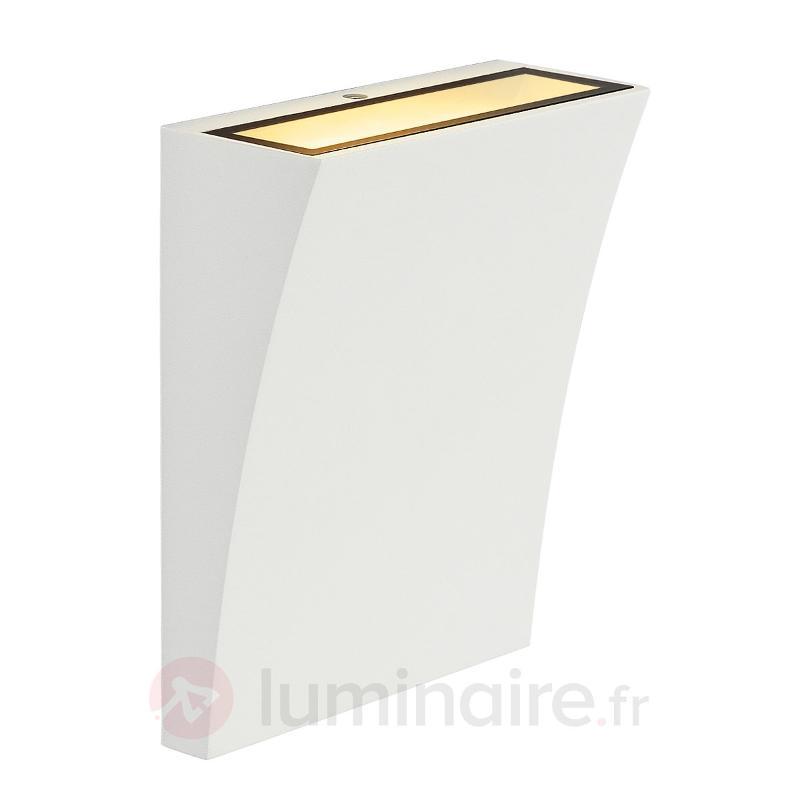 Applique LED élégante DELWA WIDE blanche - Appliques LED