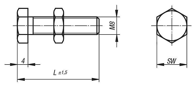 Vis d'arrêt - Modules linéaires et portiques pneumatiques