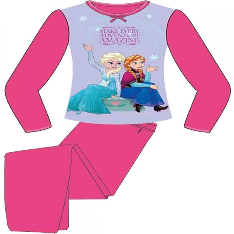 12x pyjamas la reine des neiges du 2 au 8 ans r f rence d40002 tom kid 39 s france. Black Bedroom Furniture Sets. Home Design Ideas