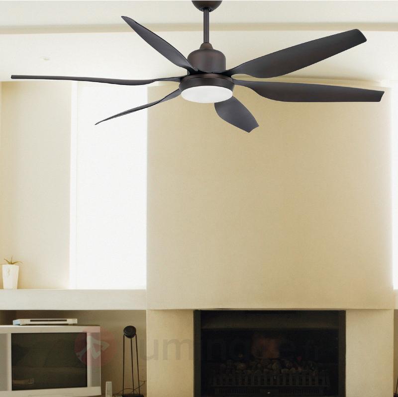 Ventilateur de plafond Tilos massif avec éclairage - Ventilateurs de plafond modernes