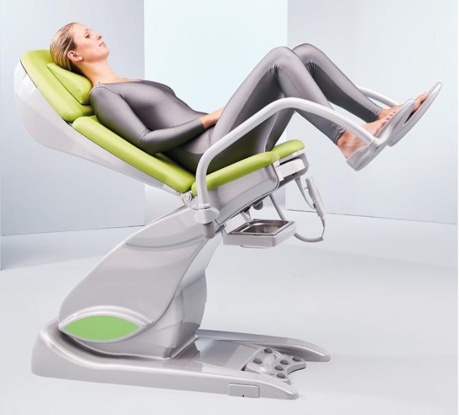 arco-matic® - Fauteuil d'examen et de traitement gyn. - arco-matic® – La nouvelle génération de fauteuils d'examen gynécologiques