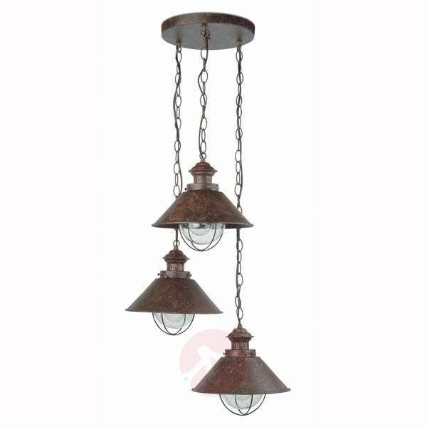 Rustic-style Nautica Pendant Lamp - Outdoor Pendant Lighting