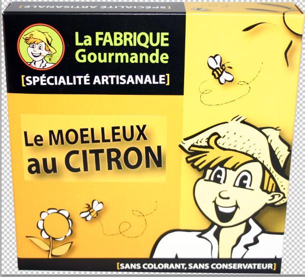 Moelleux au citron - Épicerie sucrée