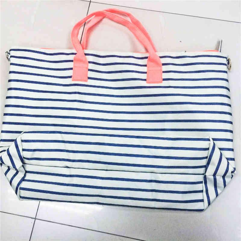 Washable polyester tote bag - full printing color