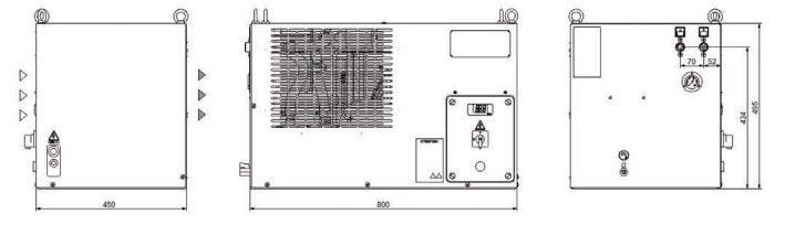 Tco31-41 Minichiller Hp Refrigeratori Industriali Per Olio - LINEA REFRIGERAZIONE