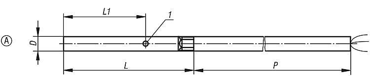 Détecteur de proximité inductif Type de corps rond - Détecteur de proximité et connecteur