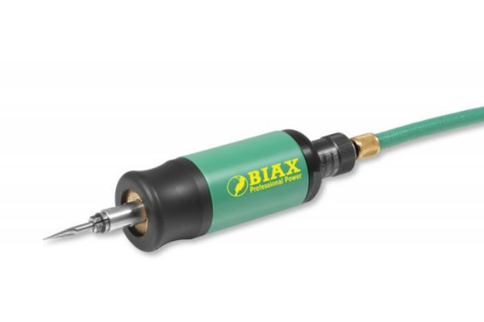 Straight grinder turbine - TVD 3-100/3 ULTRA - Speed 100.000 rpm / Power 80 watts / rotary valve / oil-free