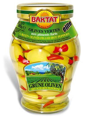 Elite G. Olives stuffed pepper - null