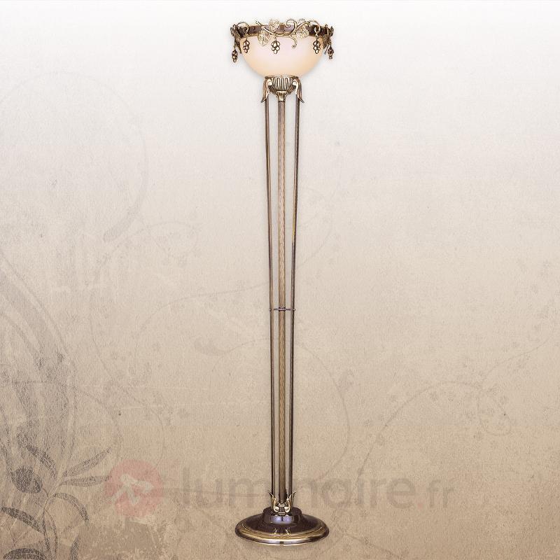 Élégant lampadaire Natura - Lampadaires à éclairage indirect