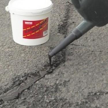Réparation fissure parking - Répar'fissure Spécial Bitume 5 litres Broc de 2 L Sable 5 kg