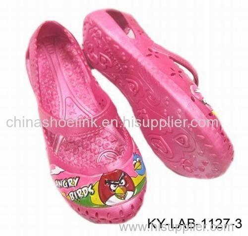 Casual shoe - child shoe, pvc shoe,