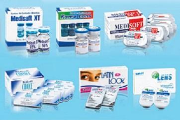 medicamentos para el cuidado de los lentes de contacto