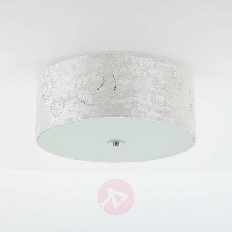 Decorative fabric ceiling light Glenna - Ceiling Lights