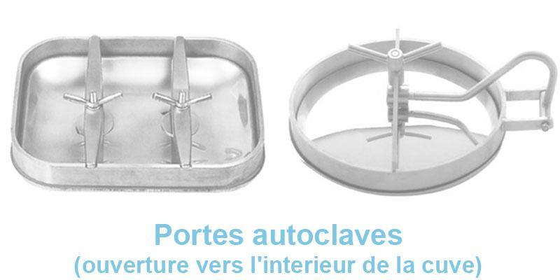 Portes Autoclaves (ouverture Vers L'interieur De La Cuve) - null