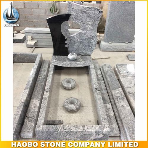 Buy Viscont White Granite Heart Shaped Headstones & Monument - We take pride in making each & every monument custom.