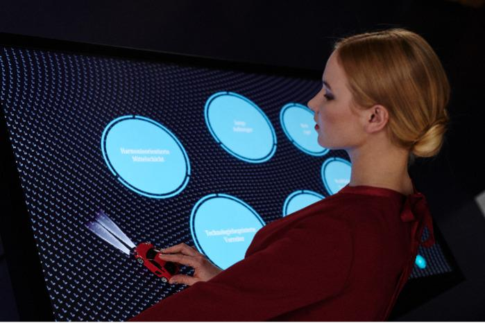 """Multitouch Displays - Screen sizes from 43"""", 55"""" up to 65"""" // optional object recognition"""