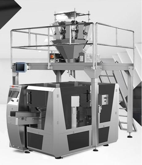 Máquina envasadora rotativa -