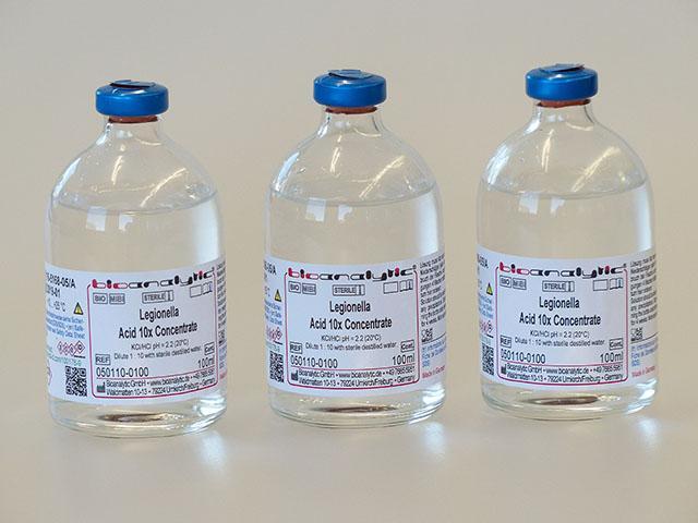 Abfüllung in Rollrandflaschen mit Septum
