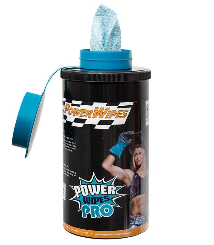 PowerWipes Pro Handreinigungstücher - für Industrie 75 Blatt