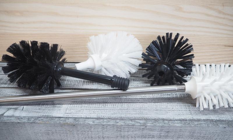 Toilet brush 2000 with edge cleaner - Toilet brush