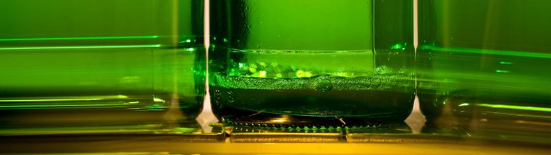 Detecting caustic after bottle-washing - Inspection technology
