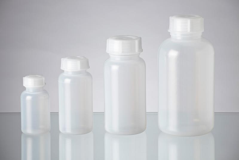 Laboratory bottles in LDPE